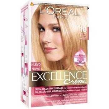 Excellence Creme Nº 10 Rubio Clarisimo Aclarante de L'Oréal