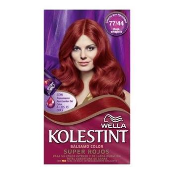 Tinte Cabello Nº 77.44 Rojo Amapola de Kolestint