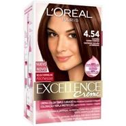 Excellence Creme Nº 4.54 Castaño Caoba Cobrizo de L'Oréal