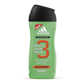Active Start Body Hair Face 3en1 de Adidas
