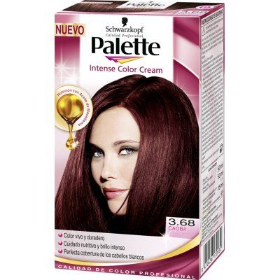 Palette intense color cream tinte cabello n caoba - Bano de color o tinte ...