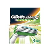 MACH3 Power Sensitive Cargador 5 uds de Gillette