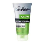 PUR&MAT Gel Desincrustante Profundo de L'Oréal Men Expert