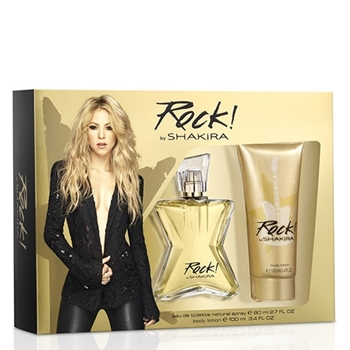 Shakira Rock! EDT Estuche 50 ml Vaporizador + Body Lotion 100 ml