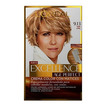 L'Oréal Excellence Age Perfect Nº 9.13 Rubio Camel