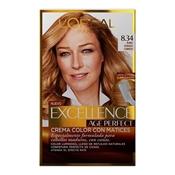 L'Oréal Tintes Excellence Age Perfect Nº 8.34 Rubio Dorado Cobrizo