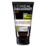 Pure Power Gel Limpiador Carbón de L'Oréal Men Expert