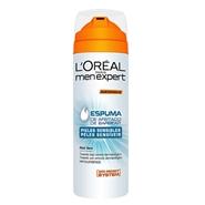 Espuma de Afeitado Pieles Sensibles de L'Oréal Men Expert