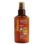 Aceite Seco Solar de Coco SPF 50 de Babaria