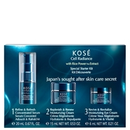 Japan's Sought After Skin Care Secret Estuche de KOSÉ Cell Radiance