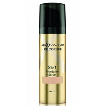 Ageless Elixir 2 in 1 Foundation + Serum de Max Factor