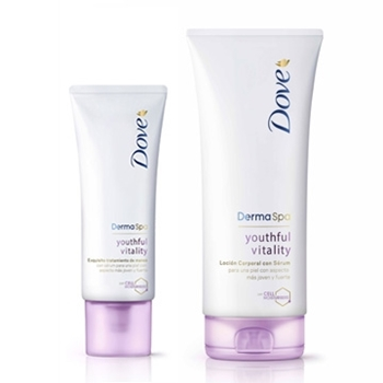 Derma Spa Youthful Vitality Body Lotion Lote de DOVE