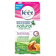 Bandas de Cera Depilatoria Natural Inspirations de Veet