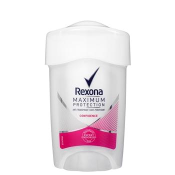 Maximum Protection Confidence Desodorante en Crema de Rexona