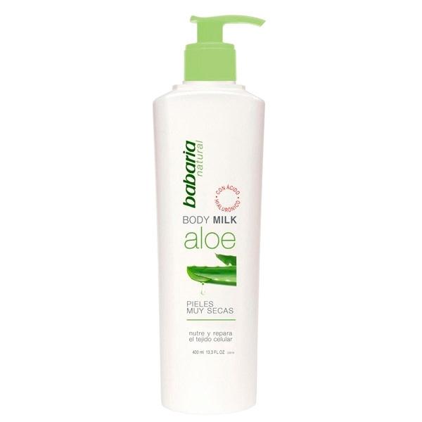Babaria Body Milk Aloe Vera 400 ml Dosificador 975b730cc3c