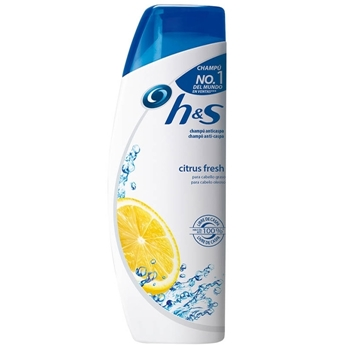 H&S Champú Anticaspa Citrus Fresh 75 ml
