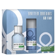 United Dreams Go Far Estuche de Benetton