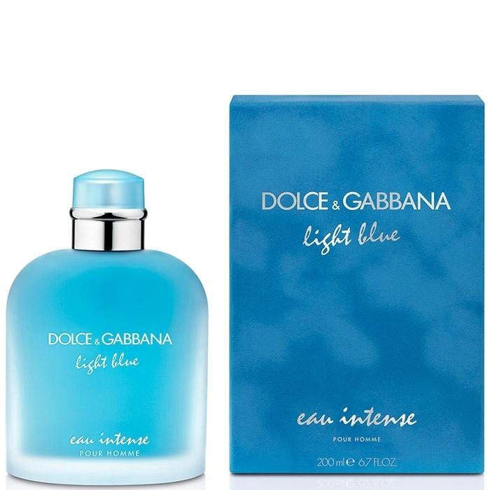 Dolce Amp Gabbana Light Blue Eau Intense Pour Homme