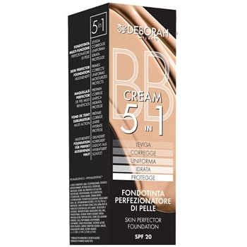 BB Cream 5 in 1 de DEBORAH