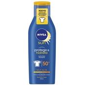 Protege & Hidrata Leche Solar Antimanchas SPF50 de NIVEA