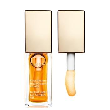 Clarins Eclat Minute Huile Confort Lèvres Nº 01 Honey