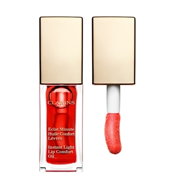 Clarins Eclat Minute Huile Confort Lèvres Nº 03 Red Berry