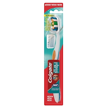 360º Whole Mouth Clean Cepillo Dental Medio de Colgate