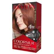 COLORSILK Beautiful Color Nº 55 Castaño Rojizo Claro de REVLON