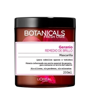 Mascarilla Geranio Remedio de Brillo de BOTANICALS