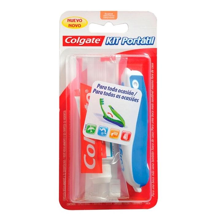 Colgate Kit Portátil Dentífrico 19 ml + Cepillo Dental c09f8efa3b6f