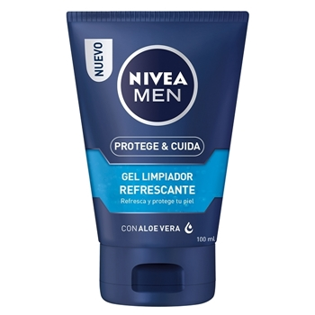 NIVEA MEN Protege & Cuida Gel Limpiador Refrescante 100 ml