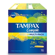 COMPAK Multi-Pack de TAMPAX