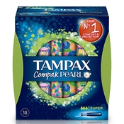 COMPAK PEARL Super de TAMPAX