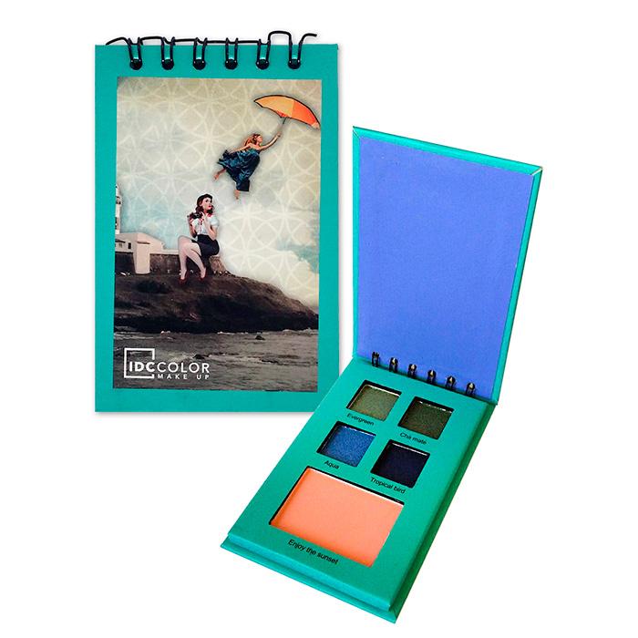 IDC Eyeshadow + Blush Notebook