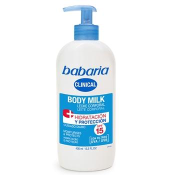 Body Milk Hidratación y Protección Clinical de Babaria