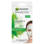 Skin Active Mascarilla Purificante de Garnier