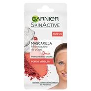 Skin Active Mascarilla Minimizadora de Poros de Garnier
