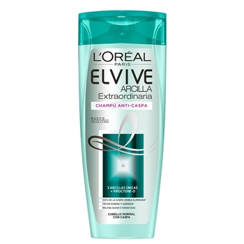 Elvive ARCILLA EXTRAORDINARIA Champú Anti-Caspa 370 ml