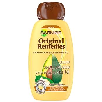 Aceite de Aguacate y Manteca de Karité Champú Antiencrespamiento de Original Remedies