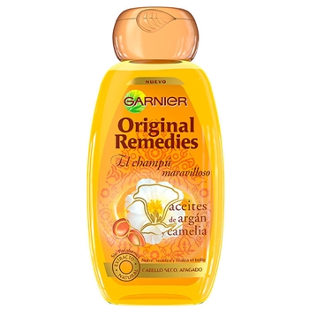 Original Remedies Aceites de Argán y Camelia Champú 250 ml
