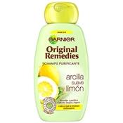 Arcilla Suave y Limón Champú Purificante de Original Remedies