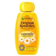 Camomila y Miel de Flores Champú Iluminador de Original Remedies