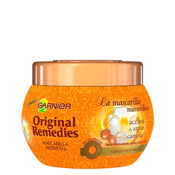 Aceites de Argán y Camelia Mascarilla Nutritiva de Original Remedies