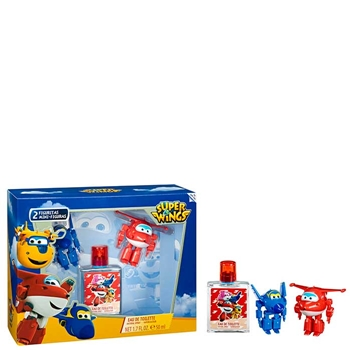 Super Wings Super Wings Estuche 50 ml Vaporizador + 2 Figuritas Mini