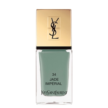 Yves Saint Laurent La Laque Couture Nº 34 Jade Imperial