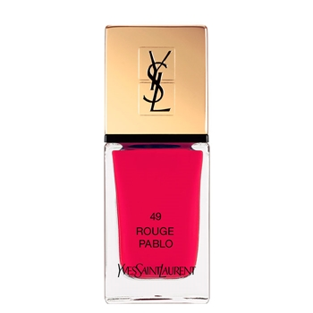 Yves Saint Laurent La Laque Couture Nº 49 Rouge Pablo