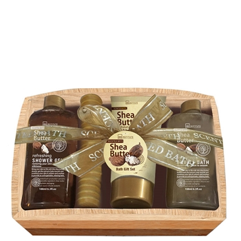 Idc set de ba o scented bath shea butter precio for Set de bano baratos