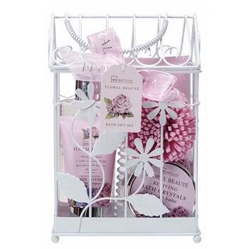 Idc set de ba o floral beaut precio comprar paco for Set de bano baratos