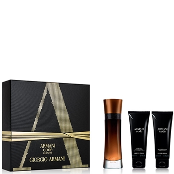 Armani CODE PROFUMO Estuche 110 ml Vaporizador + Gel Ducha 75 ml + After Shave Bálsamo 75 ml