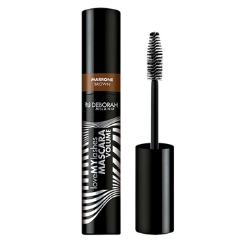DEBORAH Love My Lashes Mascara Volume Brown